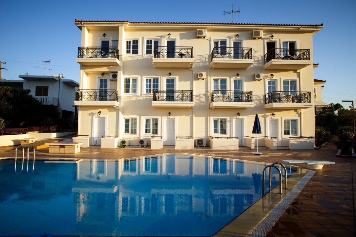 Apartmentkomplex mit herrlichem Meerblick Westlich der Stadt Chania