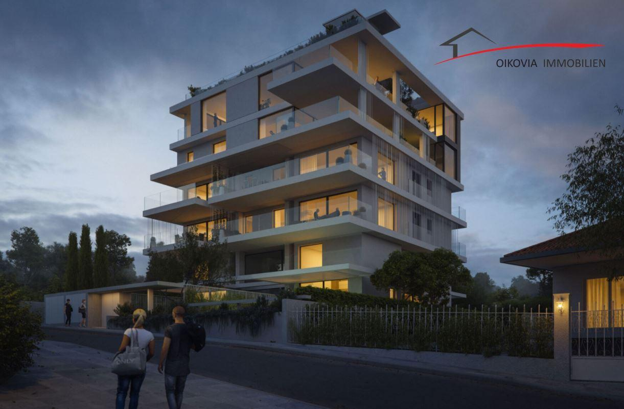 Luxuriöse 4. Etage Wohnung im Bau, Alimos – 600m vom Meer