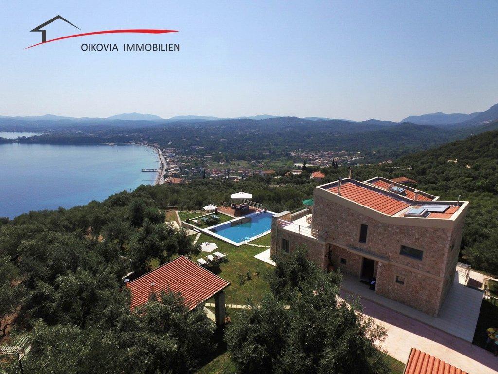 Villa der Extra-Klasse auf Korfu