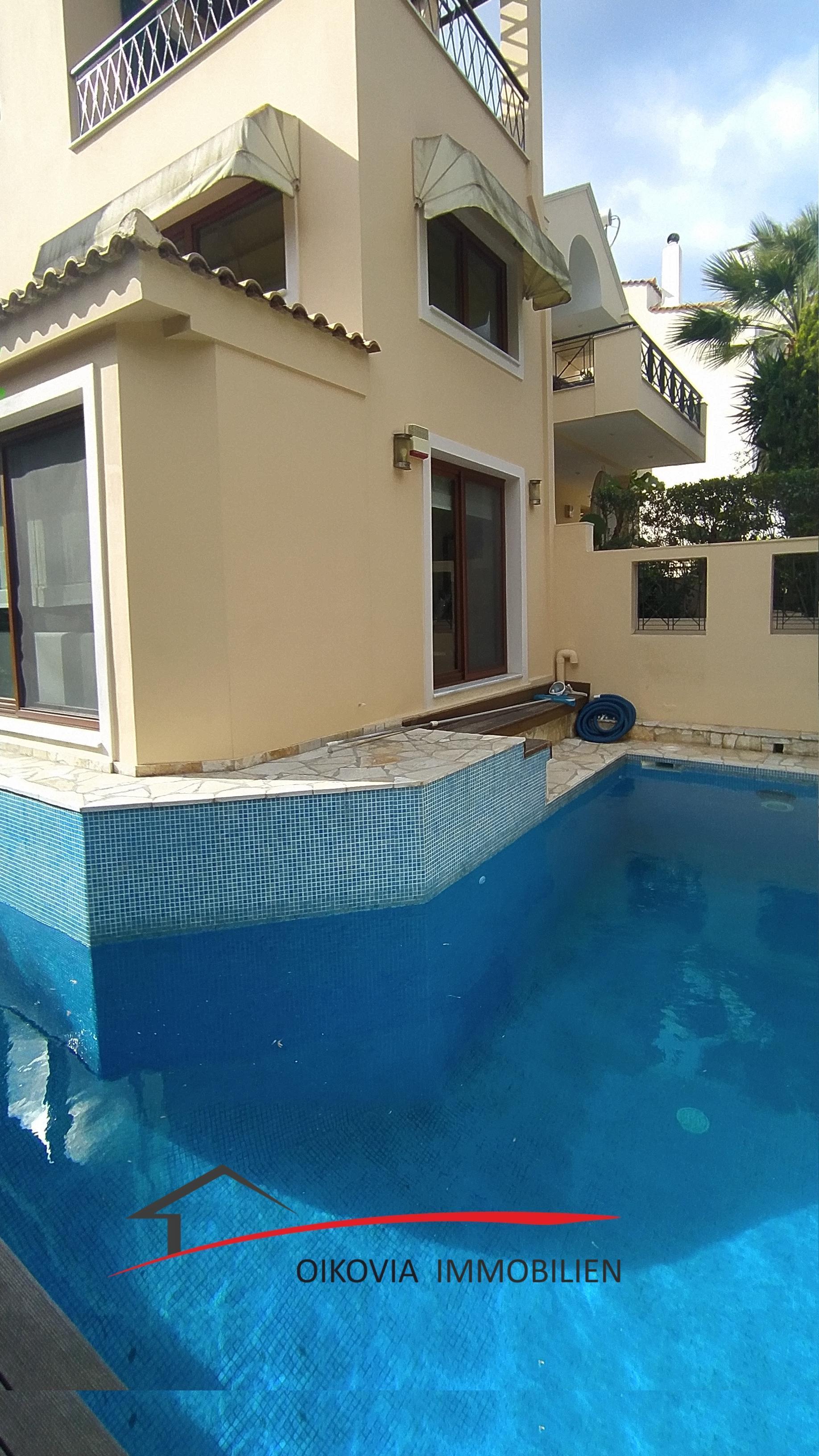 Investitionsobjekt Athen Süd- Voula, Pigadakia, Einfamilienhaus zu Verkaufen, 220 qm, Auf Grundstück 200 qm